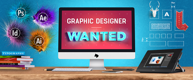 In house graphic designer