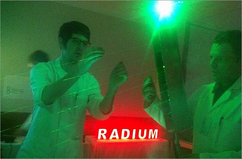 Radium at work