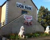 Out front at the Drakenstein Lion Sanctuary Stellenbosch