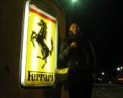 Andrew outside Ferrari HQ