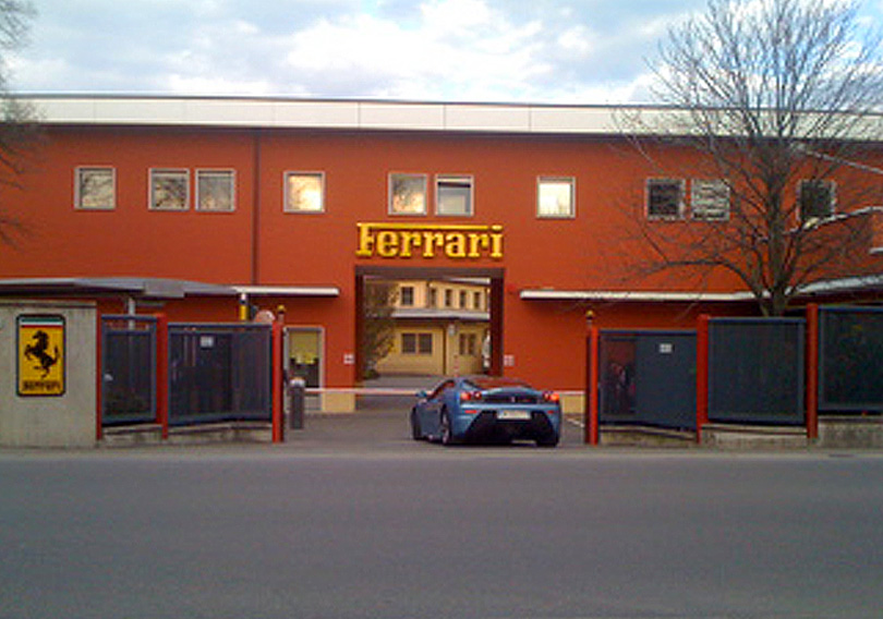 The California at Ferrari HQ