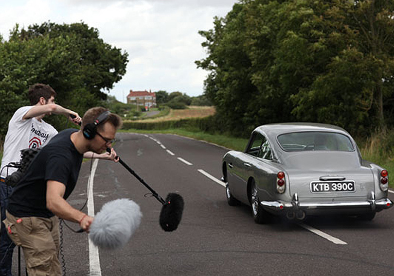 Supercar Sessions: Capturing the Aston Martin DB5 at speed