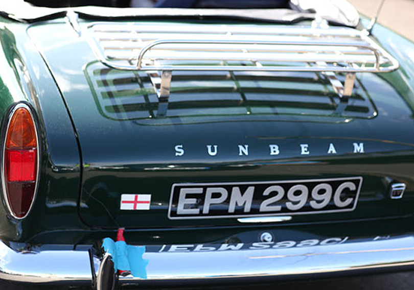 Supercar Sessions: next ... the Sunbeam!