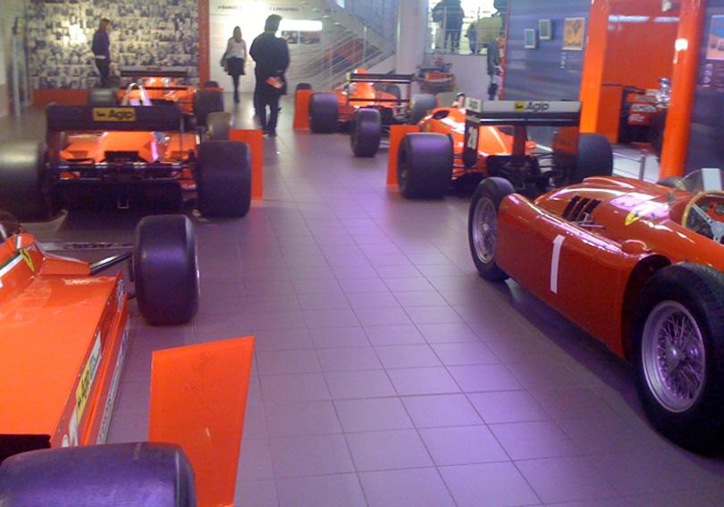 Ferrari showroom