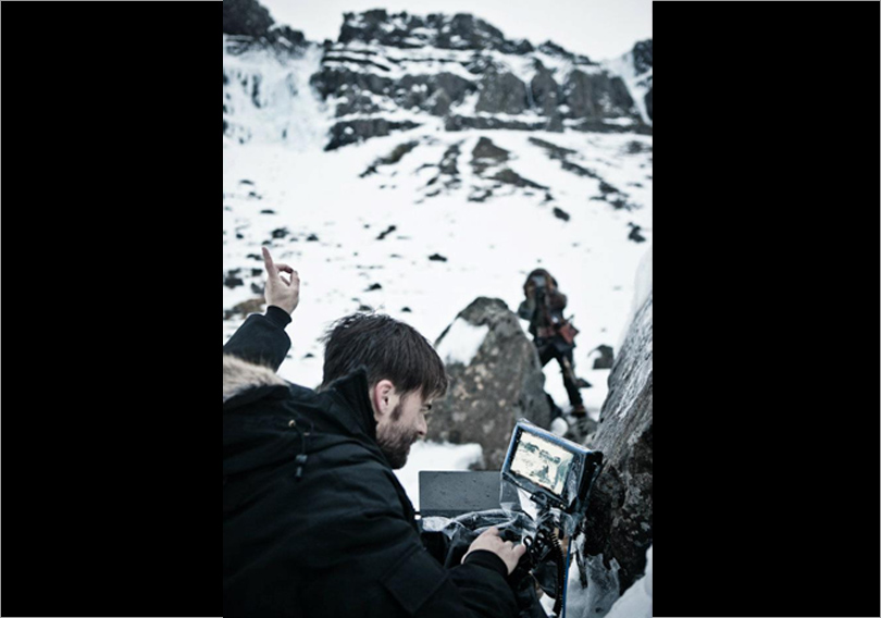 On Location Iceland - Sean shooting with the Alexa