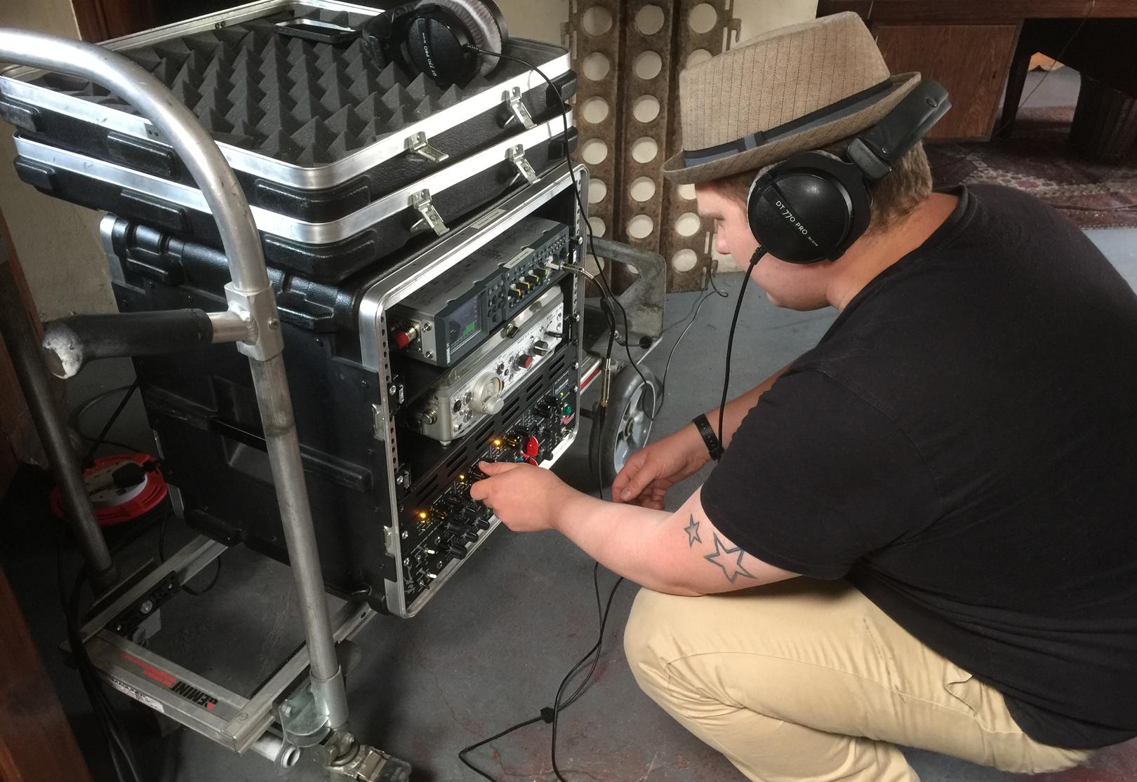 Sonic Motion: Recording
