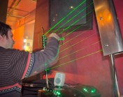 F5 New York Laser Harp - Plinky Plonking