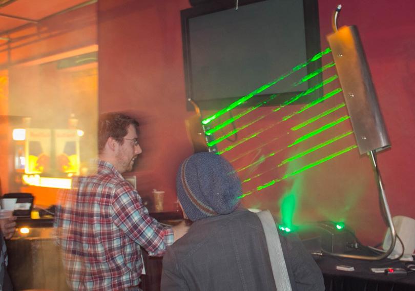 F5 New York Laser Harp - Everyone In!