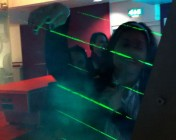 Ogilvy Digital Labs London -  the Laser Harp