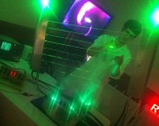 Promax London Laser Harp - Dave Demonstrates