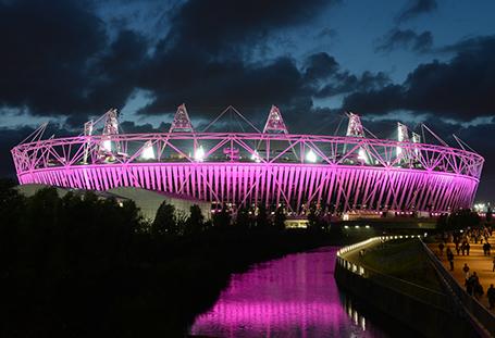 BP London Summer Games Installation