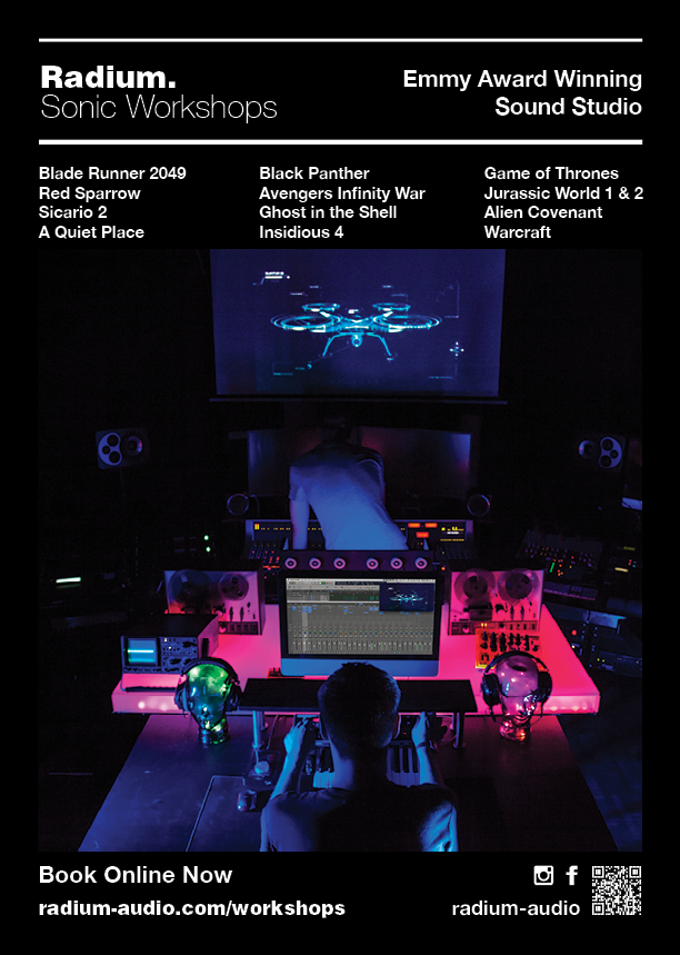 Sound Design Short Courses by Emmy Award Winning Studio